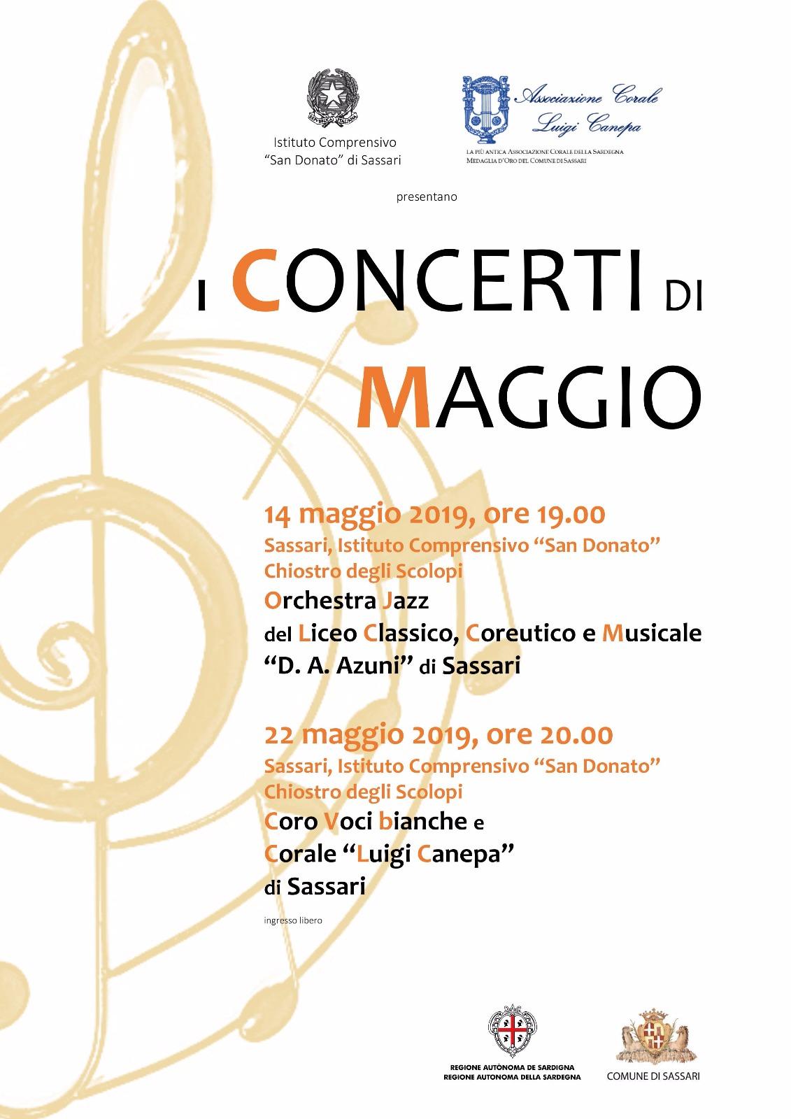 San Donato Calendario.Circolare N 117 Calendario Attivita Musicali Classi Ad